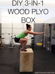 diy exercise equipment projects diy 3 in 1 wood plyo box homemade weights and