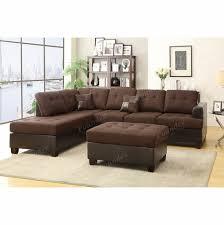 bobkona 3 pcs sectional sofa set