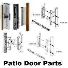 sliding glass door lock replacement slider repair how to fix