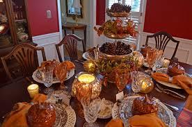 thanksgiving table centerpieces. Decorations. 4-tiered Centerpiece In 6-seat Thanksgiving Table Decoration Feature Pine Cones Centerpieces E