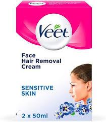 veet face hair removal cream 2 x 50ml