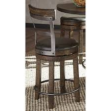 swivel counter height stools. Beautiful Counter Tobacco Brown Swivel Counter Height Stool  Barrel For Stools A