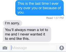 The Last Text Messages Sent Before A Breakup Death Or Estrangement