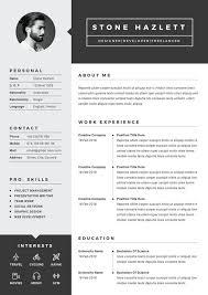 Modern Resume Style Esty