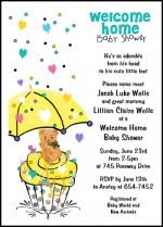 Creative Invitation Wording For 99 Welcome Home Baby Shower
