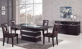 modern black dining room sets. modern dining room chairs black sets o