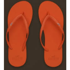 Crossfitflare Com Hollister Women Orange Flip Flop