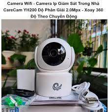 Camera Wifi Camera Ip Giám Sát Trong Nhà CareCam YH200 Độ Phân Giải 2.0Mpx  - Xoay 360 Độ Theo Chuyển Động