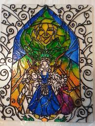 stained glass paint wip by nelupinlll