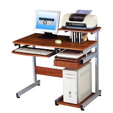 home computer furniture. Full Size Of Basic Computer Desk With Drawer And Pull Out Scanner Panel Woodgrain Small Home Furniture