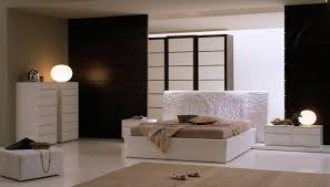 ultra modern master bedrooms. Interesting Modern Ultra Modern Master Bedroom With White And Brown Accent On0solid  Floor Wooden Partition For Ideas Inside Bedrooms P