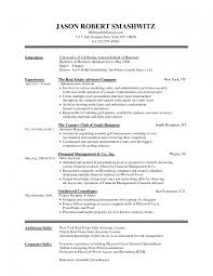 Formal Resume Format Word Simplest Sample Canadian Template Do
