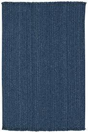 capel hampton 400 denim blue braided rug