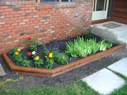 Small Front Garden Design Ideas Interesting Flower Bed Ideas With River Rocks Garden Design Grass Borders