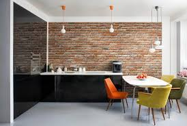 Exposed Brick Wall Using The Exposed Brick Wall In The Kitchen Will Give A Different