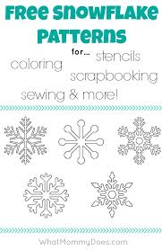 Best 25+ Snowflake stencil ideas on Pinterest | Snow flakes diy ... & Free Printable Snowflake Templates – Large & Small Stencil Patterns Adamdwight.com