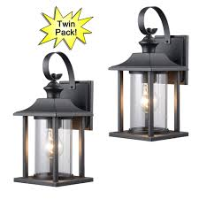 Black Exterior Lights And Outside Lighting Fixtures - Exterior light fixtures