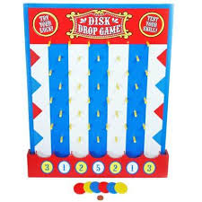 Wooden Carnival Games Wooden Disk Drop Game Fun Carnival Game 24
