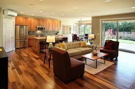 Charming 17 Open Concept Kitchen Living Room Design Ideas Photo