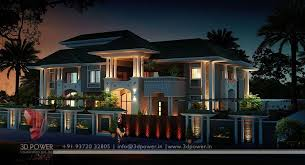3D Exterior Rendering Creative Decoration Awesome Decorating Ideas