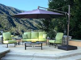 post club patio umbrella cantilever umbrellas sams stands