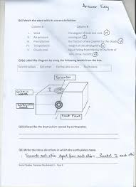 Class 4 Home Work / Worksheets | PAF JUNIORS