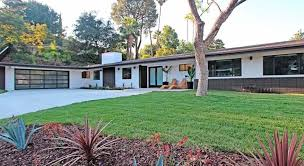 California Modern-Ranch Glamour. 16425 Oldham St After Sandlot Homes Remodel