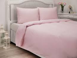 english home plain cottony king size duvet cover 24 5x33 0 cm pink