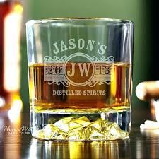 personalized whiskey glass monogram like this item monogrammed set glasses
