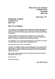 whole class of letters complaint nov luke tinsley 9