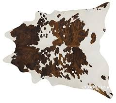 ecowhides tricolor brazilian cowhide area rug cowskin leather hide for home living room l