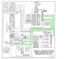 inverter wiring diagram images pole breaker wiring diagram electrical using a 2 pole breaker for
