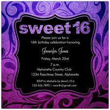 16th Birthday Party Invitations Pink Diamond And Leopard Print 16th