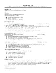 Cover Letter Curriculum Vitae Example Of Resume Cover Letter Resume