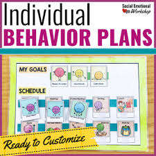 Individual Behavior Plans For Behavior Intervention In The Classroom