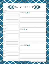 Planner Printables For Students Free Homeschool Planner For High School Page Modern