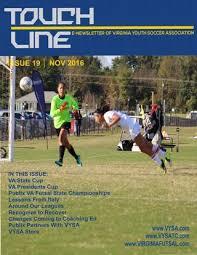 By Va Issue Touchline Association Issuu Soccer - Nov 19 2016 Vysa Youth