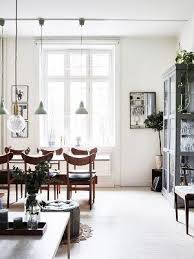 Inside a Trendy Scandinavian Home With a Hint of Mint