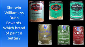 Sherwin Williams Paint Quality Chart Sherwin Williams Vs Dunn Edwards Which Brand Of Paint Is Better