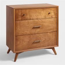 Small Acorn Wood Brewton Dresser