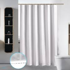 shower curtain shower environmentally friendly. Extra Long Washable Shower Curtain Liner Bathroom Waterproof Fabric Cloth Mildew Resistant Polyester Best Hotel Environmentally Friendly Z