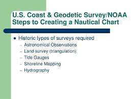 Ppt U S Coast Geodetic Survey Noaa Steps To Creating A