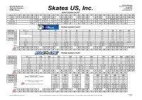 Hockey Skate Conversion Chart Graf Size Chart Edea Sizing Chart