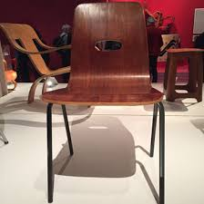 Vtg 1940 50s simmons furniture metal medical Refinished Made From Single Piece Of Moulded Plywood Mounted On Steel Frame It Was Far Cheaper And Easier To Manufacture Than Its Predecessor The Hillestak Rejuvenation Robin And Lucienne Day Foundation News