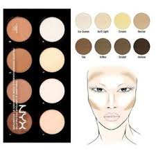 nyx makeup nyx highlight contour pro palette