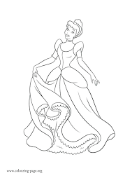 Disney Cinderella Coloring Sheets Princess Coloring Pages Princes