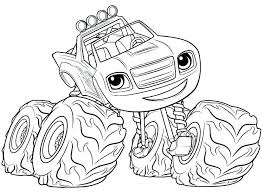 Monster Trucks Coloring Pages Printable Monster Truck Coloring Pages
