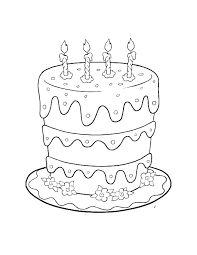 Cute Cake Happy Birthday Card Happy Birthday Cake Topper Free