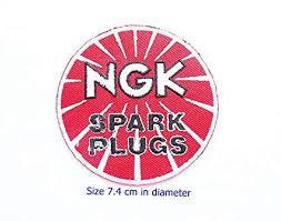Ngk Spark Plug Application Chart Motorcycle Ngk Spark Plugs Car Moto Gp Motorcorss Racing Biker Logo Motorcycle Boots Helmets Patch Sew Iron On Jacket Cap Vest Badge Sign