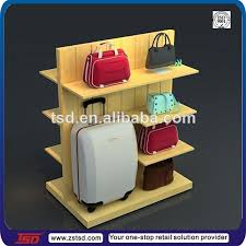 Handbag Display Stands Gorgeous Tsdw32 Shopping Mall Double Sided Wooden Wholesale Handbag Display